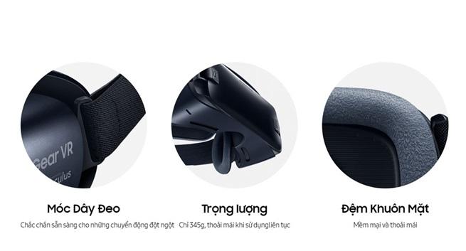 kinh thuc te ao samsung Gear vr r323 chinh hang 11 - Kính thực tế ảo Samsung Gear VR 2 chính hãng