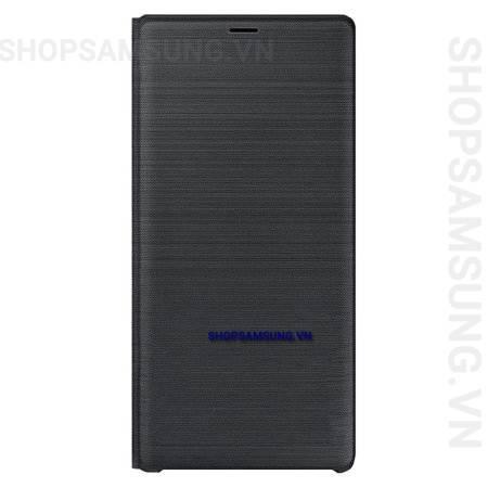Bao da LED View Cover Case Samsung Galaxy Note 9 đen Black chính hãng 2 - Bao da LED View Cover Case Samsung Galaxy Note 9 đen Black chính hãng