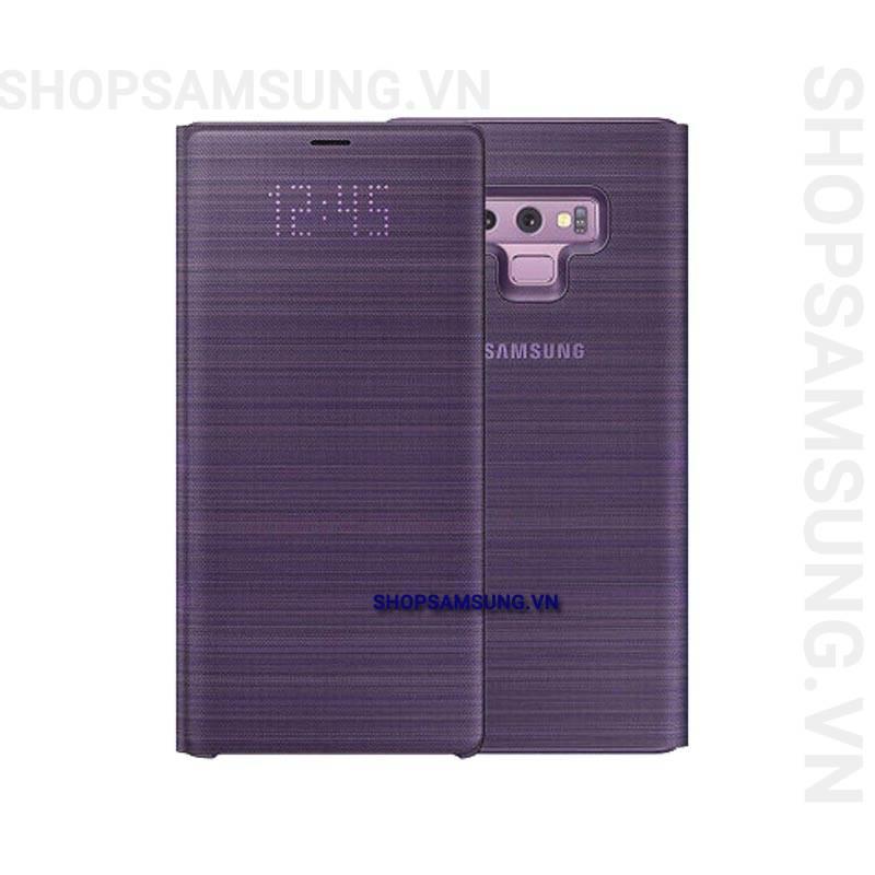 Bao da LED View Cover Case Samsung Galaxy Note 9 tím Lavender chính hãng 1 - Bao da LED View Cover Case Samsung Galaxy Note 9 tím Lavender chính hãng