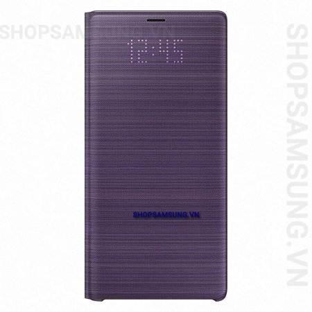 Bao da LED View Cover Case Samsung Galaxy Note 9 tím Lavender chính hãng 2 - Bao da LED View Cover Case Samsung Galaxy Note 9 tím Lavender chính hãng