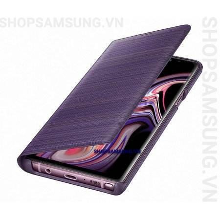 Bao da LED View Cover Case Samsung Galaxy Note 9 tím Lavender chính hãng 5 - Bao da LED View Cover Case Samsung Galaxy Note 9 tím Lavender chính hãng