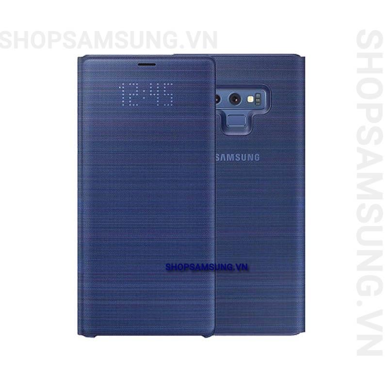Bao da LED View Cover Case Samsung Galaxy Note 9 xanh Blue chính hãng 1 - Bao da LED View Cover Case Samsung Galaxy Note 9 xanh Blue chính hãng