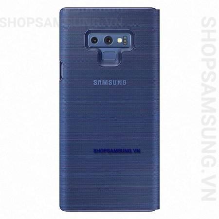 Bao da LED View Cover Case Samsung Galaxy Note 9 xanh Blue chính hãng 3 - Bao da LED View Cover Case Samsung Galaxy Note 9 xanh Blue chính hãng