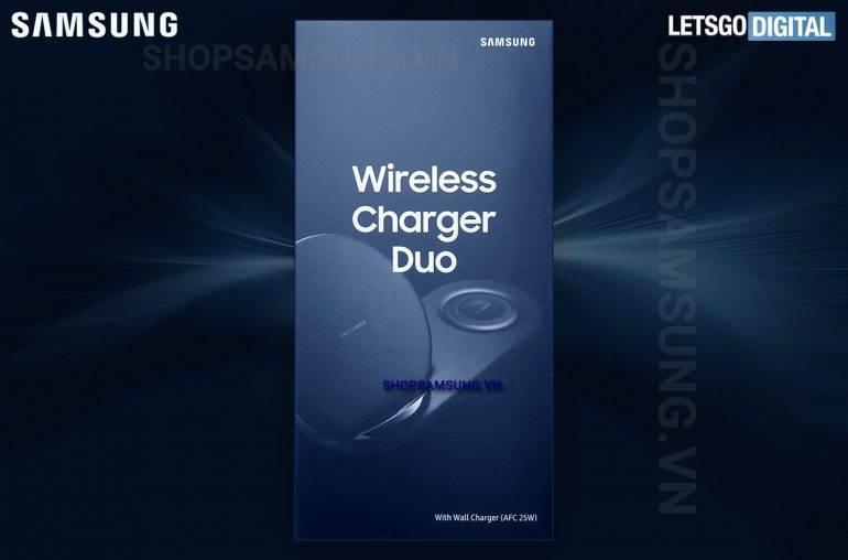 Sạc không dây Wireless Charger Duo Samsung Note 9 chính hãng 1 - Sạc không dây Wireless Charger Duo Samsung Note 9 chính hãng